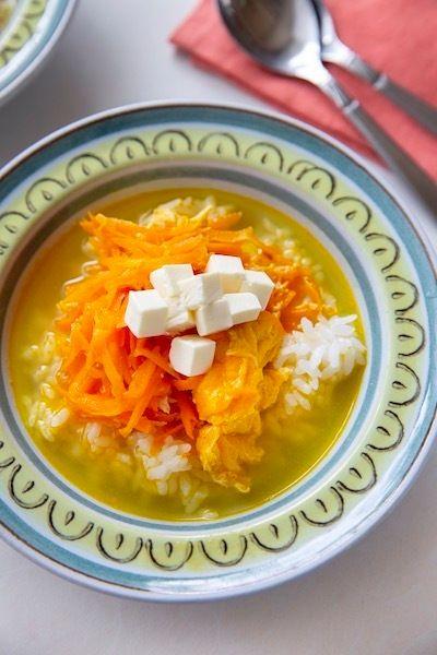クリームチーズとにんじんと卵 たどり着いた究極のスープカレー