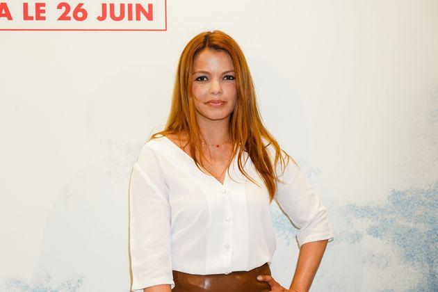 Séverine Ferrer à l'avant-première du film