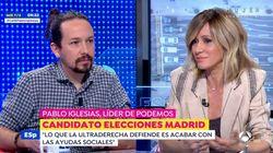 Pablo Iglesias corrige estas palabras de Susanna Griso:
