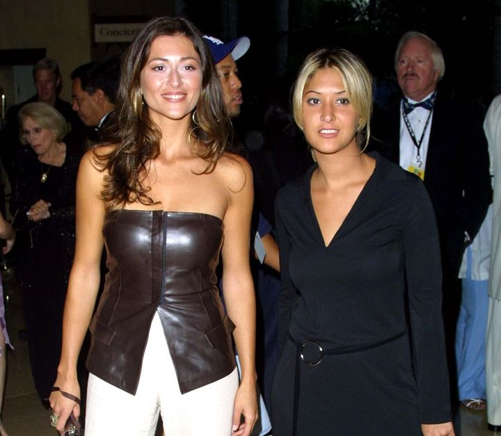 Ella Baila Sola (Marilia Casares y Marta Botía) en los premios La Persona del Año en 2001.