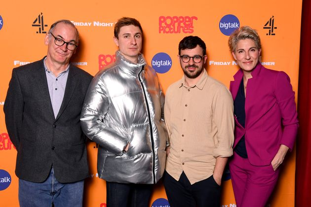 Friday Night Dinner stars Paul Ritter, Tom Rosenthal, Simon Bird and Tamsin