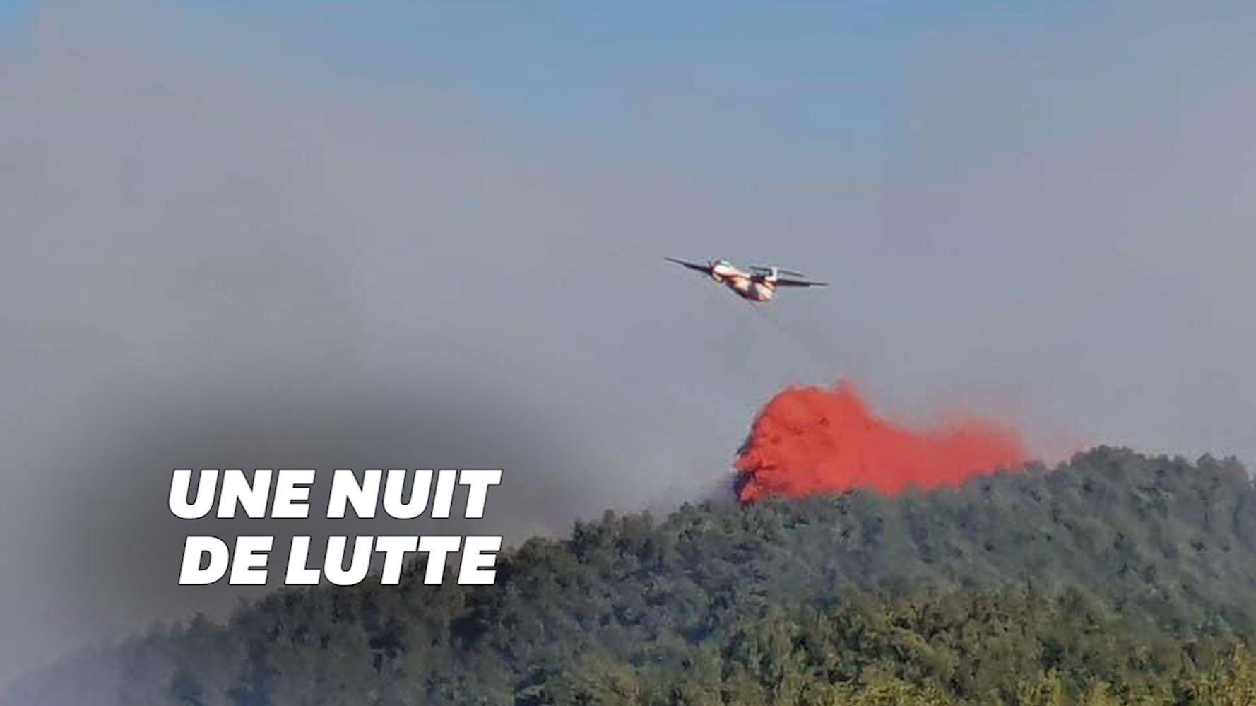 Un feu de forêt se propage près de Marseille, 150 habitants brièvement évacués