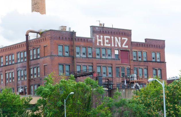 L'usine Heinz Ketchup à Pittsburgh, en