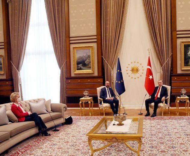 Dopo lo sgarbo di Ankara, Michel si