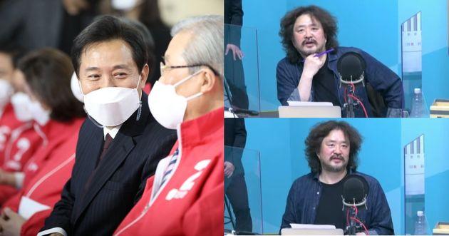 오세훈의 서울시장 당선 가능성이 높아졌고, 김어준의 방송 폐지 가능성도