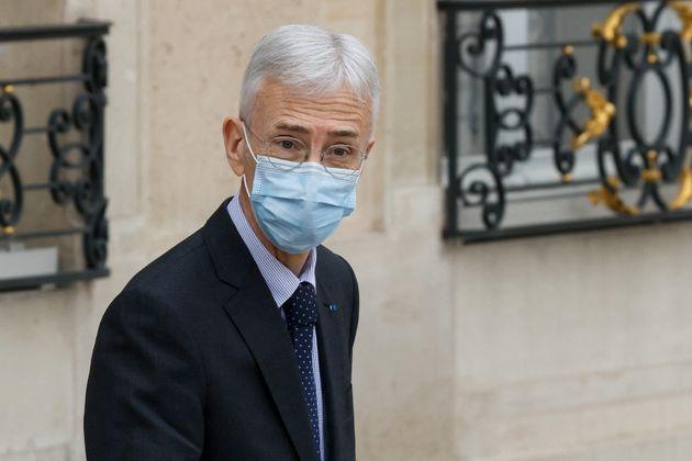 Didier Lallement, préfet de la police de Paris, à l'Elysée après une rencontre...