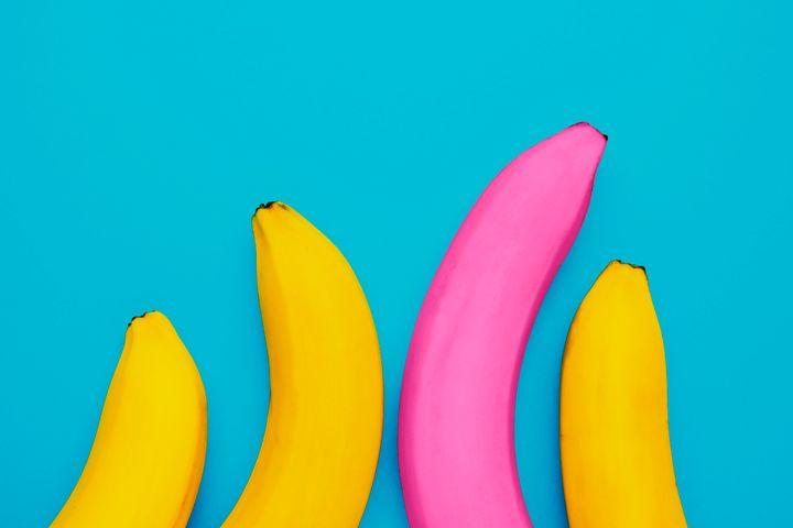 Distintos tipos de plátanos.