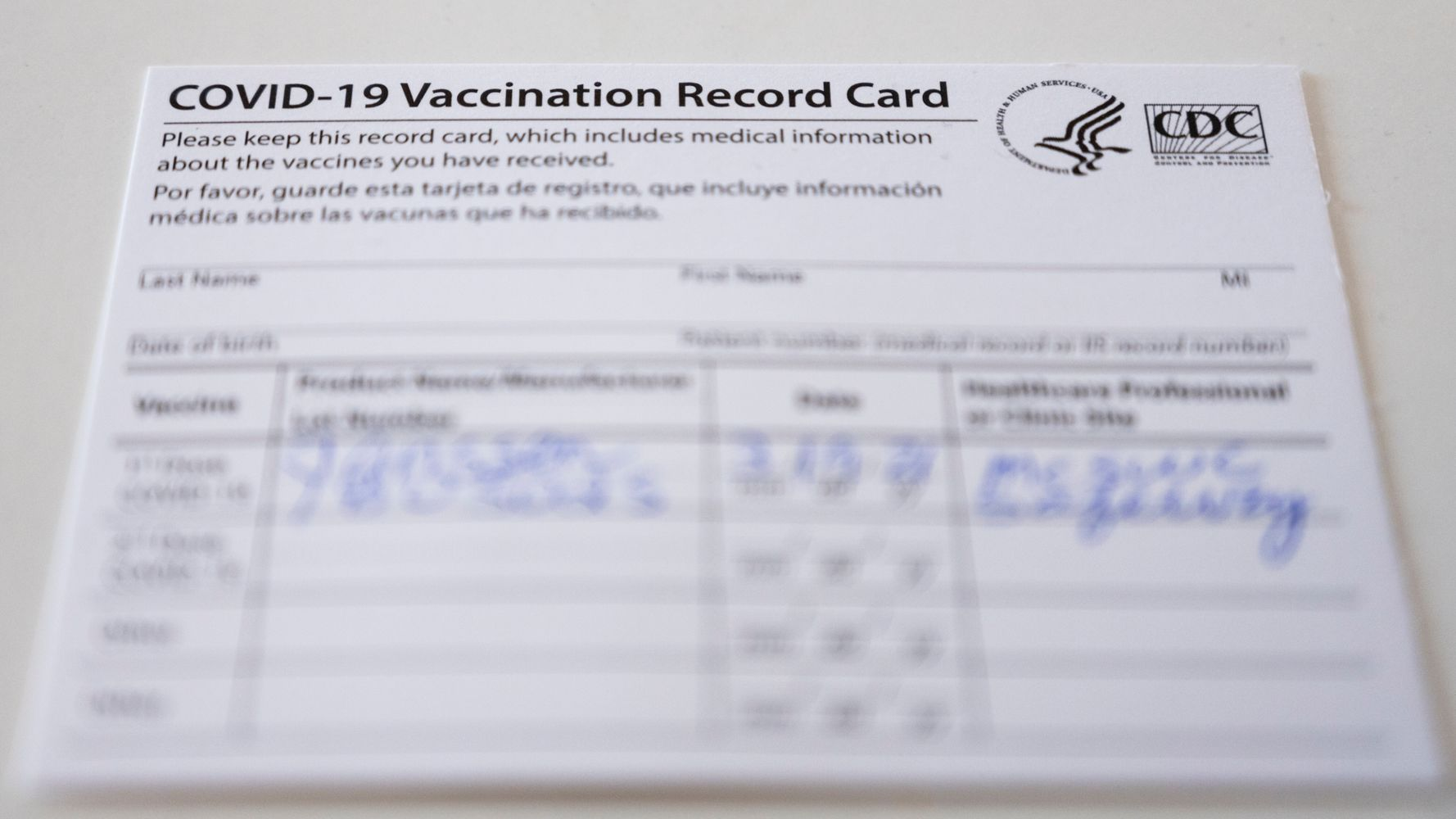 COVID-19 Vaccine Card: What You Need To Know