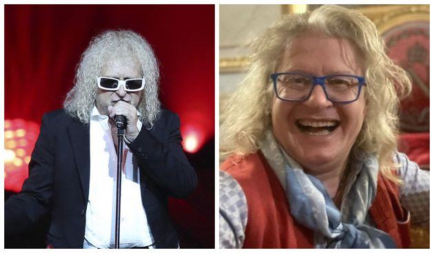 A gauche : Michel Polnareff lors d'un concert à Nice, en 2016. A droite : Le collectionneur Pierre-Jean