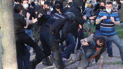 El mitin de Vox desata la violencia en