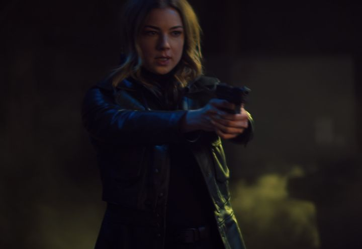 VanCamp as Sharon Carter/Agent 13.