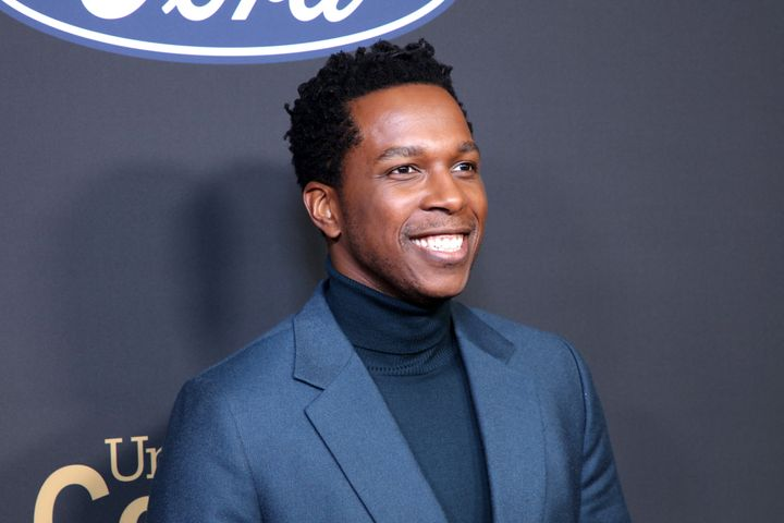 Leslie Odom Jr. is now the father of a son and daughter.