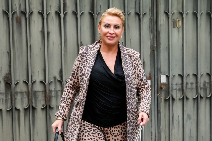 Raquel Mosquera, viuda de Pedro Carrasco