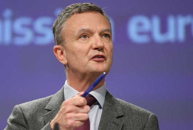 El portavoz de la Comisión Europea, Eric
