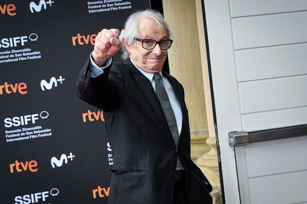 SAN SEBASTIAN, SPAIN - SEPTEMBER 25: Director Ken Loach attends 'Sorry We Missed You' photocall during...