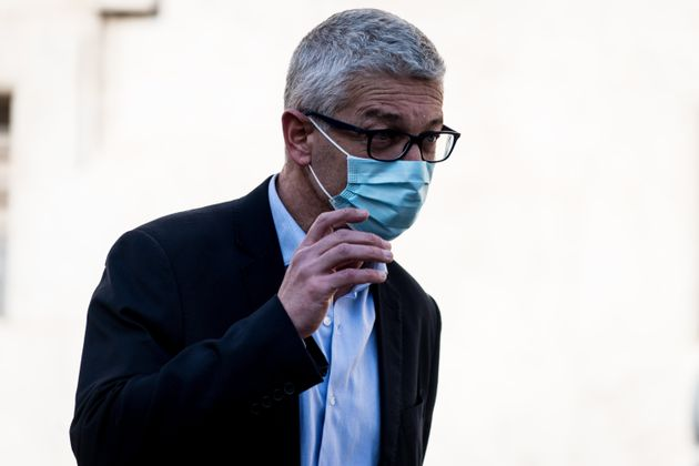 Senator Nicola Morra expelled from the five star movement (m5s) in the Chamber of Deputies for a vote...