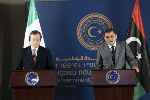 Draghi in Libia, fedele alla linea
