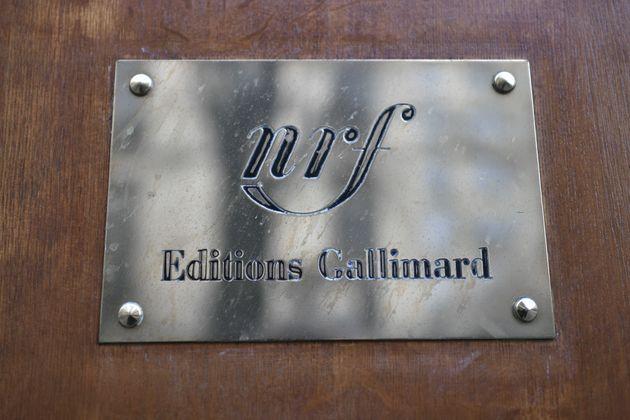 Devanture des éditions Gallimard, à