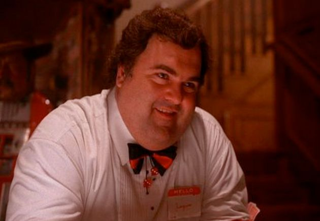 Walter in character in Twin Peaks