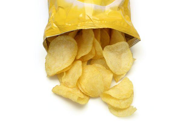 Una bolsa de patatas