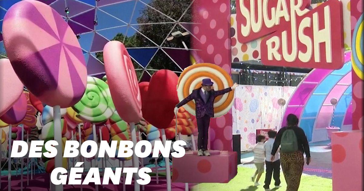 ''Sugar Rush'', un parc sur le thème des bonbons ouvre à Los Angeles