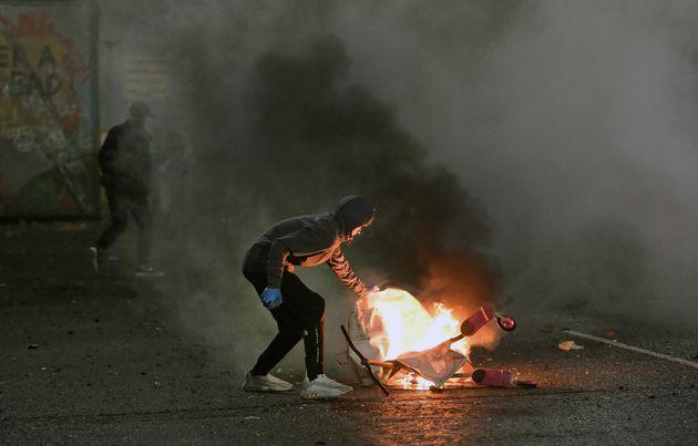 Protestas en Irlanda del