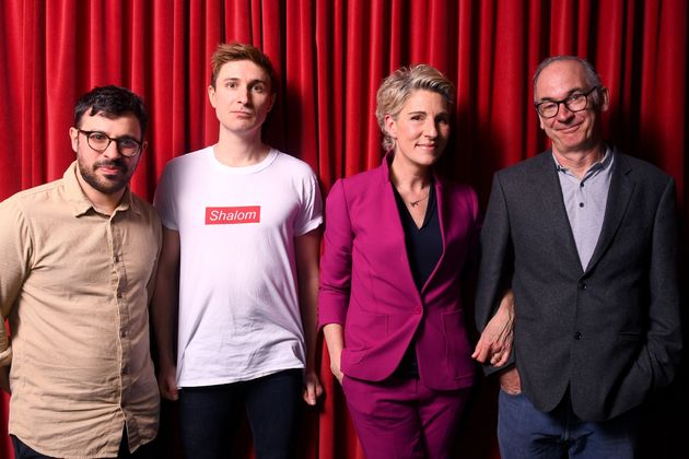 Friday Night Dinner stars Simon Bird, Tom Rosenthal, Tamsin Greig and Paul
