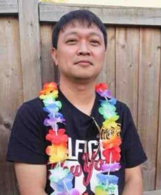 Oliver Adrada, 45, a domestic worker who died of