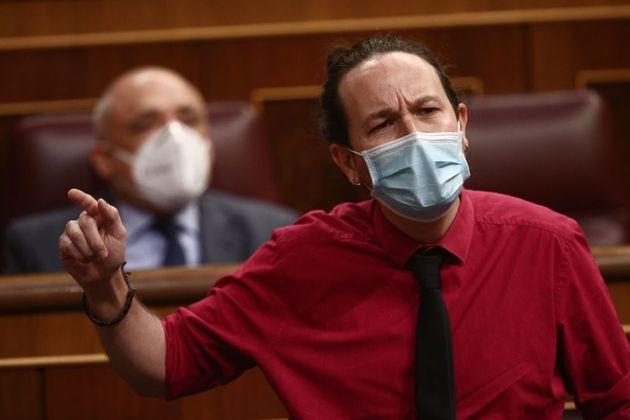 Pablo Iglesias, el pasado 17 de marzo en el