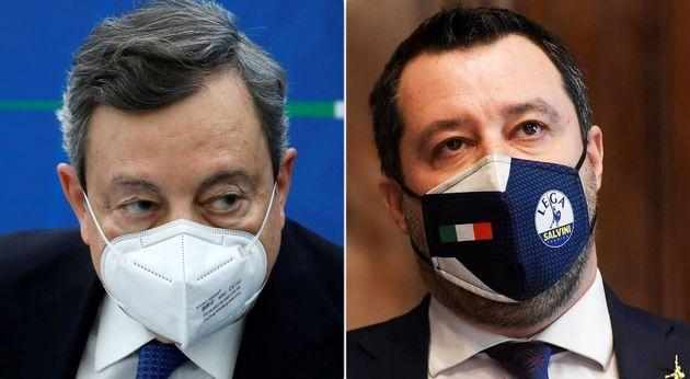 Draghi dà laddio a Quota 100. Salvini abbozza e rilancia a 102