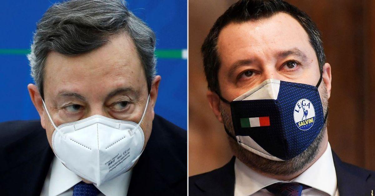 Draghi vede Salvini: nessuna concessione e difende Speranza (di F. Fantozzi)