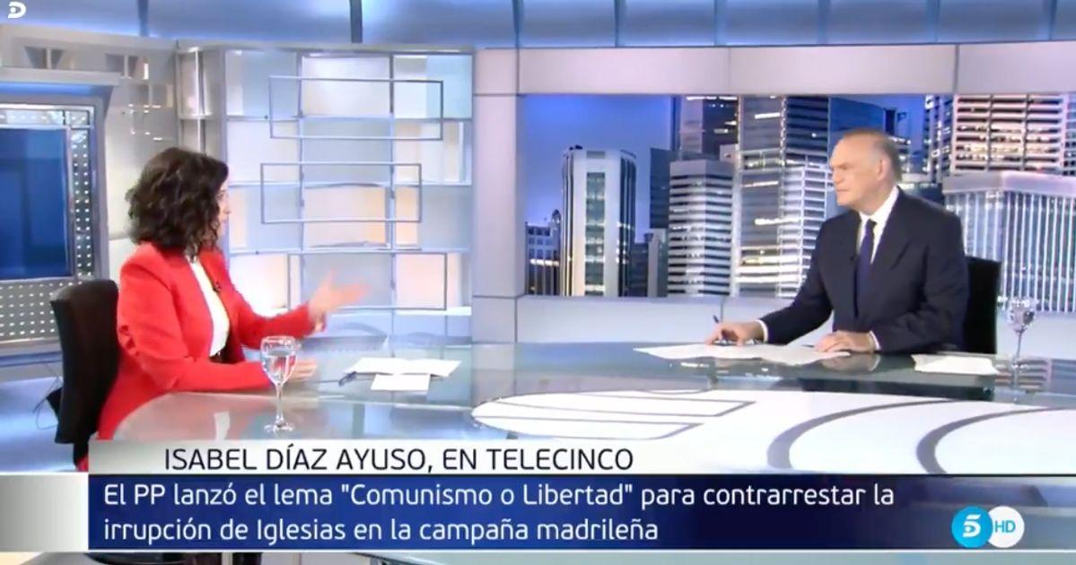 """Piqueras se lo aclara a Ayuso tras tanto insistir sobre un político: """"No tengo nada contra él"""""""