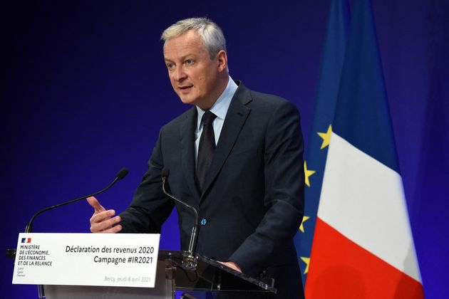 Bruno Le Maire, ici à Paris, le 8 avril