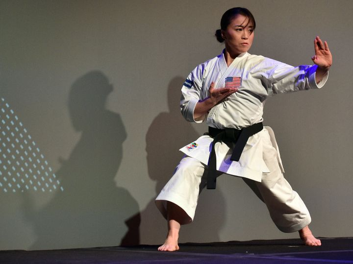 Martial artist Sakura Kokumai, a seven-time USA National Champion and Team USA athlete, was harassed by a man while she was t