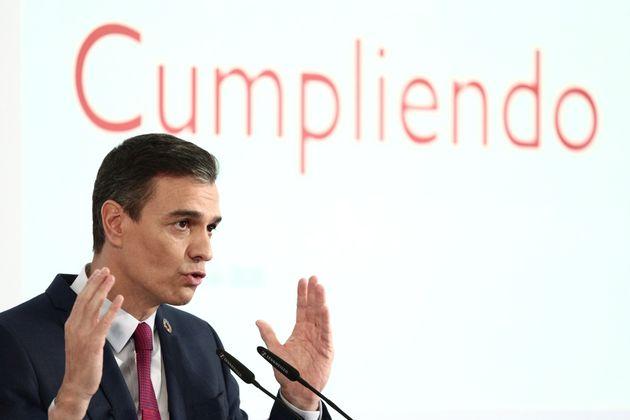 El presidente de España, Pedro