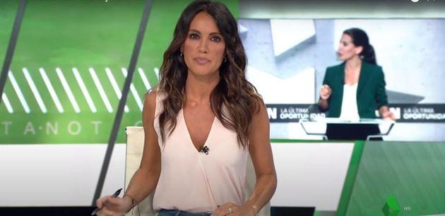 Cristina Saavedra, en La Sexta
