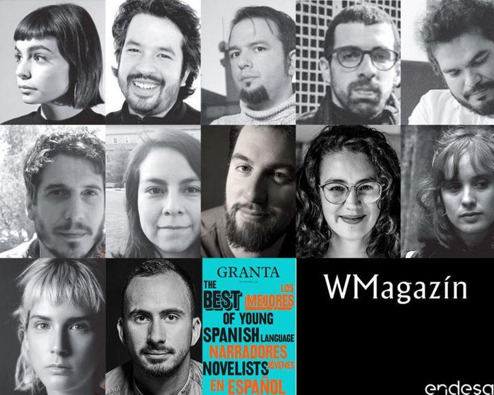 Doce de los 25 mejores escritores jóvenes de la lista 'Granta'.