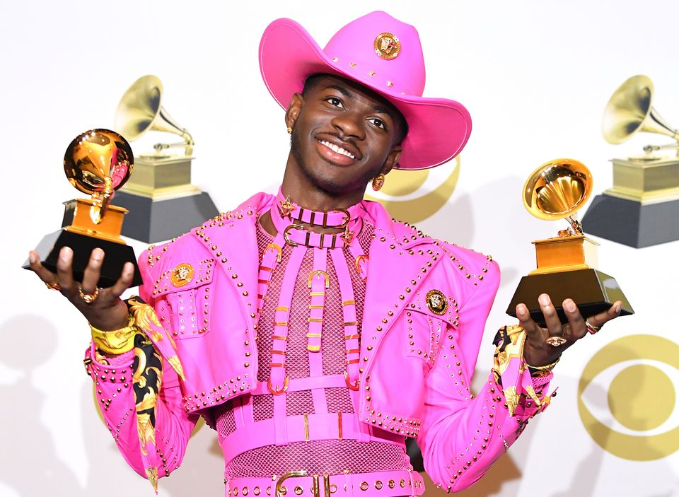 Lil Nas X at the 62nd Annual GRAMMY Awards in January