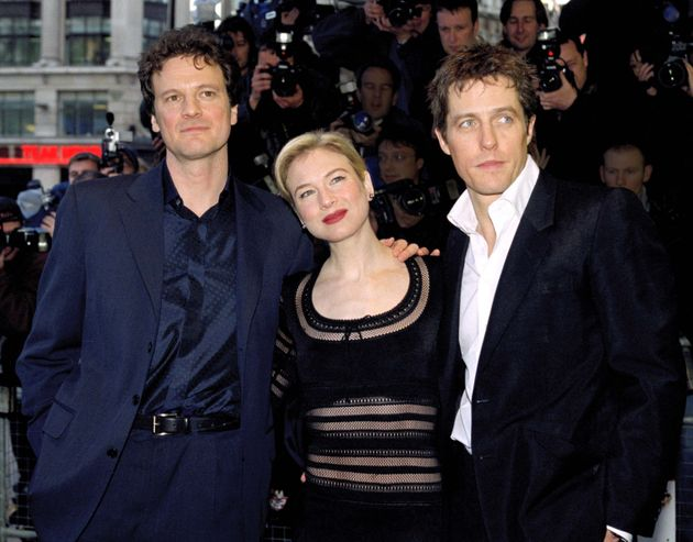 Hugh Grant And Colin Firth Had Company From An Unlikely Star During Bridget Jones Fight Scene
