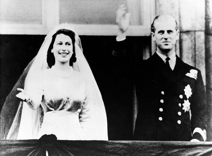 Boda de la reina Isabel y Felipe de Edimburgo