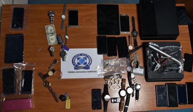 Συμμορία σκληρών κακοποιών στα χέρια της ΕΛ.ΑΣ - 500.000 ευρώ λεία από κλοπές και