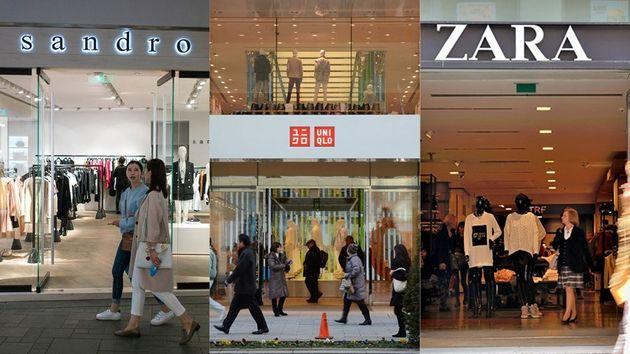 Quatre célèbres multinationales de l'habillement sont visées par cette plainte en...