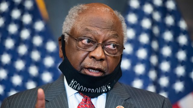 Jim Clyburn On Joe Manchin: 'How Would He Have Me Compromise' On Voting Rights?.jpg