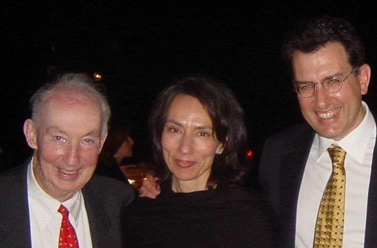 2003 - Ο Norman Shumway μαζί με τον κ. Σαρρή και τη σύζυγό του