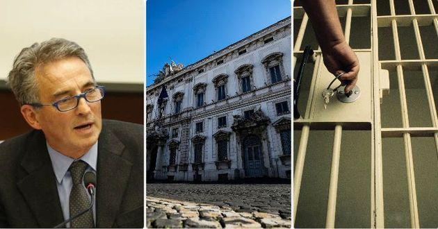 Il prof. Glauco Giostra - la sede della Corte costituzionale - l'apertura di una cella di un