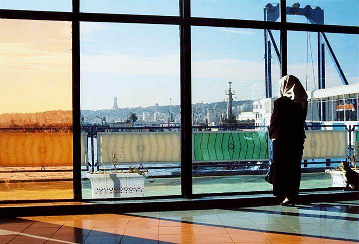 La fotografía 'Esperando un barco'.