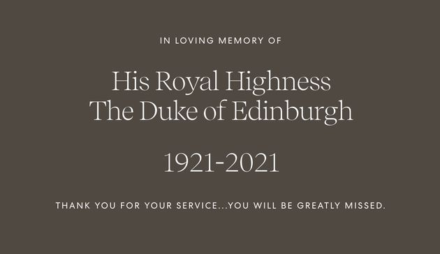 Meghan Markle And Prince Harry Pay Tribute To Prince Philip: 'You Will Be Greatly