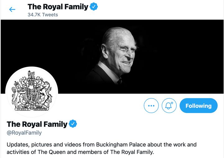The Royal Family's tribute to the late Prince Philip.