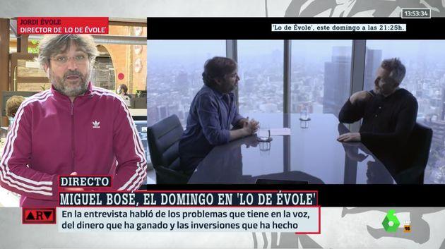 Jordi Évole en 'Al Rojo