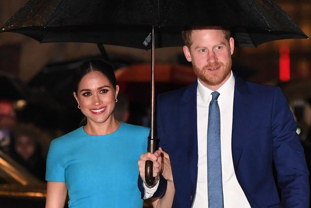 Le Prince Harry et Meghan Markle le 5 mars